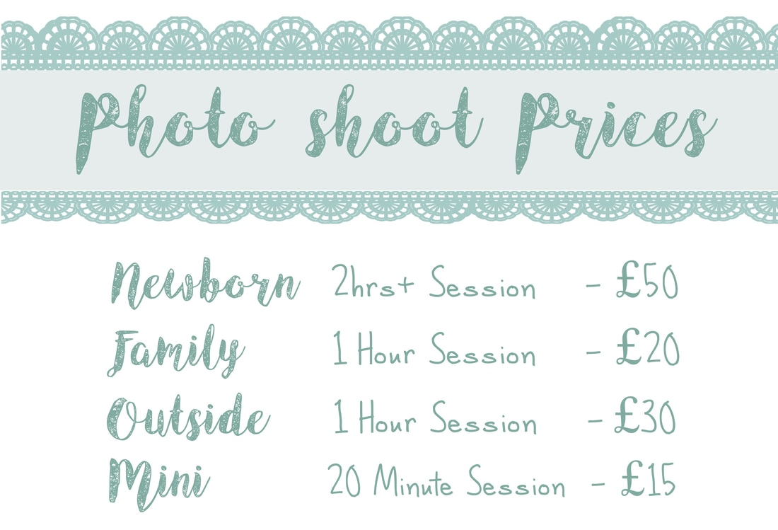 Price List For Studio Photography By C Y Wild Photography C Y Wild